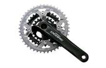 Shimano Deore Hollowtech II crank set zwart